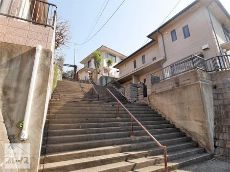 三鷹市大沢1丁目 土地<br>~階段約40段の高台~