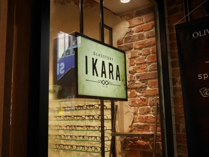 眼鏡を着替える IKARA